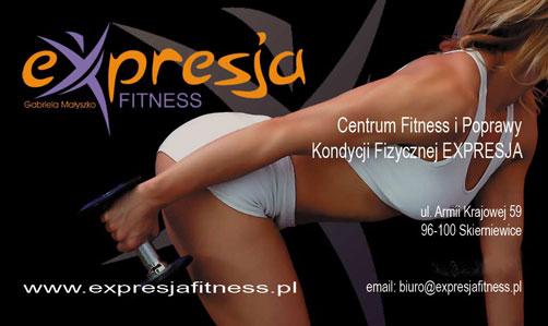 Centrum Fitness i Poprawy Kondycji Fizycznej EXPRESJA przy ul. Armii Krajowej 59 w Skierniewicach